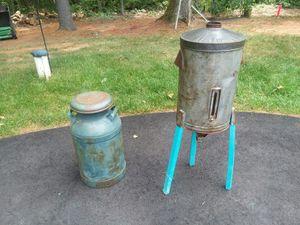 Milk can and cream Seperator for Sale in Reva, VA