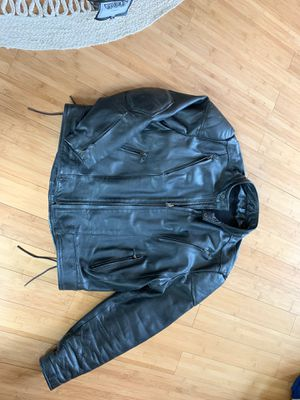 Motorcycle leather jacket. Men's XXL. for Sale in Arvada, CO