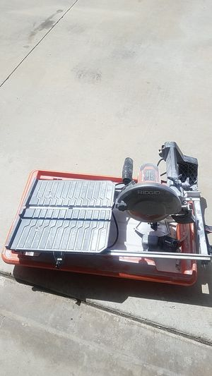 Ridgid table saw 7inch for Sale in Corona, CA
