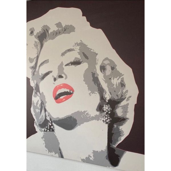Marylin Monroe Canvas Poster Painting