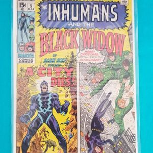 AMAZING ADVENTURES THE INHUMANS AND THE BLACK WIDOW #5 HIGH GRADE for Sale in Ontario, CA