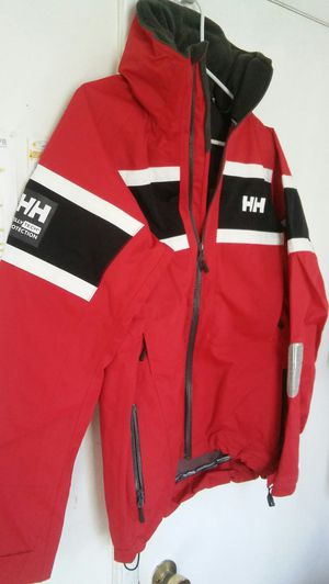 Size small mens Helly Coat. Brand new. Price $240 These are my original pictures beware of frauds who post my pictures. Buyer comes to me for Sale in Washington, DC
