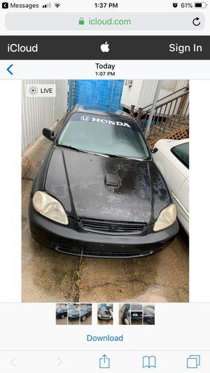 96 Honda civic (stick shift for Sale in Lafayette, LA