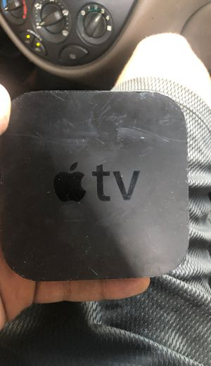 Apple TV 3rd Generation 2012 w/ Remote and Cords for Sale in Tampa, FL