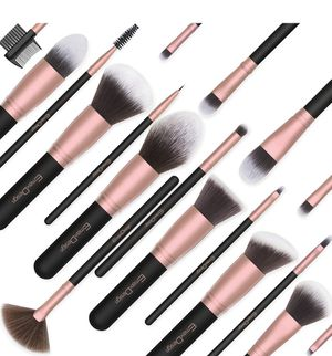 Makeup Brushes,18 Pcs Professional Makeup Brush Set Premium Synthetic Brush Foundation Blush Concealer Blending Powder Liquid Cream Face Eyeshadow Br for Sale in Plainfield, NJ