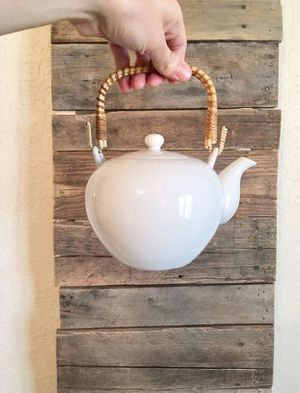 White Ceramic Japan Teapot Kettle for Sale in Duncan, OK