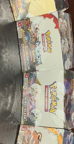 Pokemon Box Booster Box And More for Sale in Huntington Park,  CA