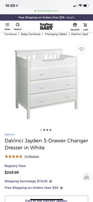 Changing table/dresser for Sale in West Bloomfield Township, MI