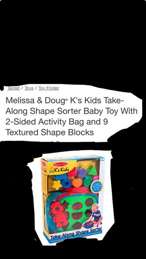 Melissa and Doug baby toy for Sale in Murfreesboro, TN