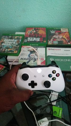 Xbox one s /games and controller for Sale in Longview, TX