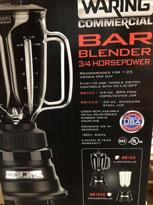 Bar blender 3/4 horsepower WARING MODEL BB155 for Sale in Phoenix, AZ
