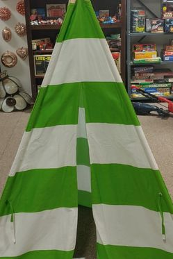 New Ready To Decorate Teepee With Storage Bag Firm Price for Sale in Burlington,  NC
