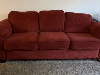 Beautiful Red Sofa And Loveseat. Like New. No holes, Tears Or Stains. Must See for Sale in Jamul,  CA