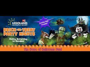 3 Legoland resort hopper + brick or treat for Sale in Lakeside, CA