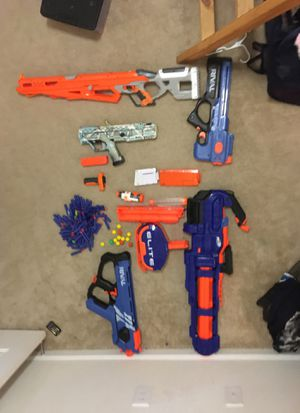 Nerf guns for sale mintcondition for Sale in St. Marys, GA