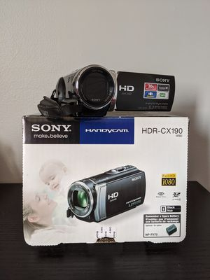 Sony HDR-CX190 High Definition Camcorder for Sale in Staten Island, NY