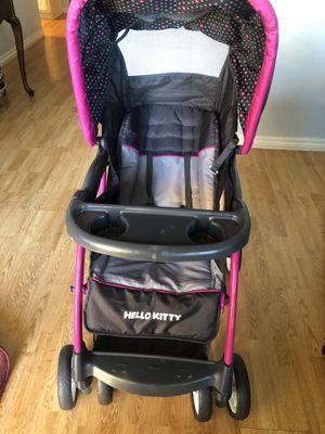 Hello Kitty Pin Wheel Encore Stroller. for Sale in Burleson, TX