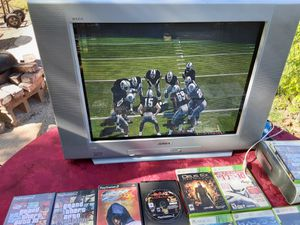 """Sony TV 27"""" WEGA with component and S-Video inputs. Great for retro gaming Model KD-27FS170 for Sale in Washington, DC"""