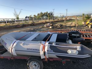 Inflatable boat for Sale in West Sacramento, CA