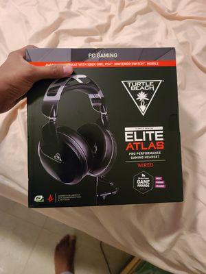 Turtle Beach Elite Atlas Pro Performance PC Gaming Headset - Black BRAND NEW! for Sale in Miami, FL