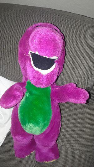 Barney stuffed animal for Sale in Las Vegas, NV