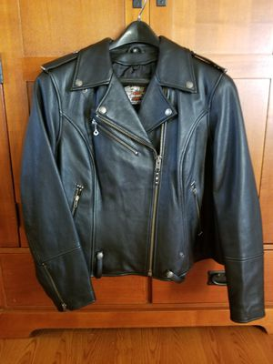 HARLEY DAVIDSON WOMEN'S LEATHER JACKET SIZE 1W for Sale in Delaware, OH