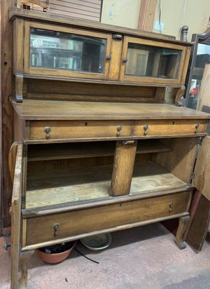 Antique Mirrored Side Board Buffet for Sale in Los Angeles, CA