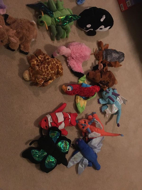 Hand puppet collection
