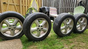 205/60/16=4rims and tires for Sale in Ashburn, VA