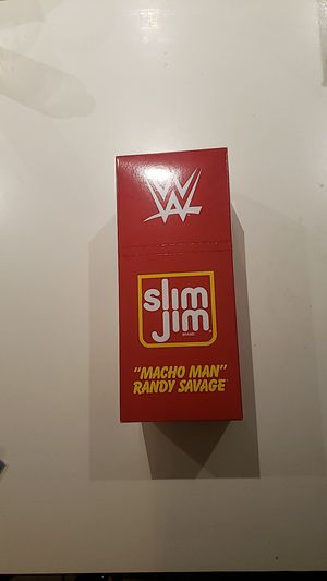 Elite Collection slim Jim macho man Randy savage limited edition figure for Sale in Lynwood, CA