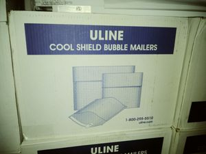 ULINE Thermal Bubble Envelopes Mailers for Sale in Fort Wayne, IN