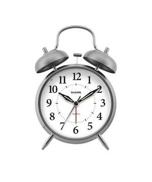 Sharp Twin Bell Quartz Analog Alarm Clock for Sale in Las Vegas, NV