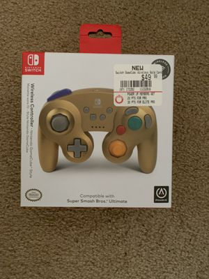 Nintendo Switch Wireless GameCube Controller (Gold) for Sale in Columbus, OH