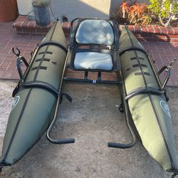 Personal Pontoon Boat water Skeeter W/ Trolling Motor for Sale in Coronado,  CA