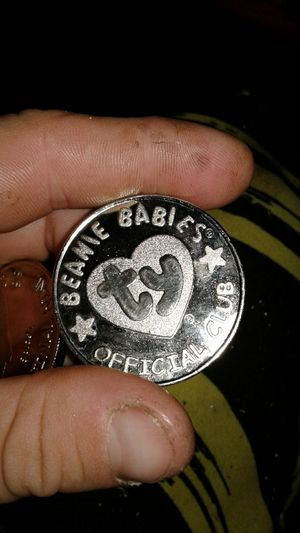 beanie baby fan club coins silver 51 grams for Sale in Los Angeles, CA