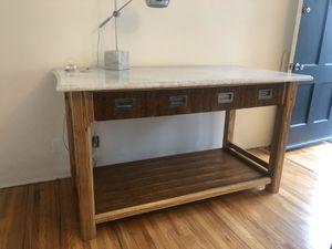 Marble Island Work Table for Sale in Playa del Rey, CA
