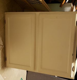 Wall cabinet w/2 shelves for Sale in Morrison, CO