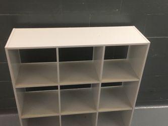 Shelf Unit 9 Cube Organizer Bookcase Shelves for Sale in New York,  NY