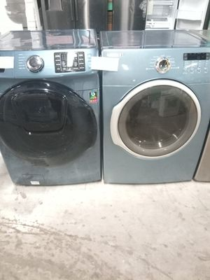 SAMSUNG FRONT LOAD WASHER AND ELECTRIC DRYER SET for Sale in Baltimore, MD