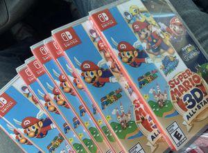 Super Mario 3D All Stars Nintendo SWITCH for Sale in Miami, FL