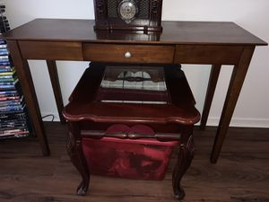 Consolé table with storage drawer for Sale in San Diego, CA