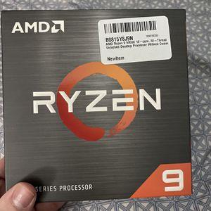 New AMD Ryzen 9 5950X Desktop Processor (4.9GHz, 16 Cores, Socket AM4) unopened box for Sale in Westminster, CA