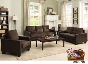 3pc set sofa+love+chair for Sale in North Las Vegas, NV