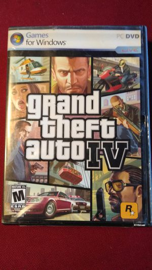 Grand Theft Auto 4 For PC for Sale in Kissimmee, FL