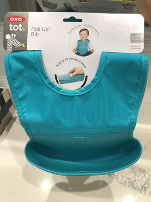 OXO tot Roll Up Bib 2-pack, 6 months up for Sale in Arcadia, CA