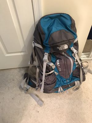 North face Terra 55 hiking backpack for Sale in Chantilly, VA