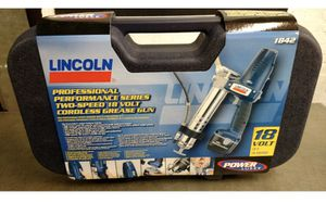 Lincoln 1842 18 Volt PowerLuber Grease Gun for Sale in Pumpkin Center, CA