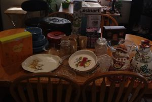 Dishes,cookie jars,photo books,players,and more. for Sale in Las Vegas, NV