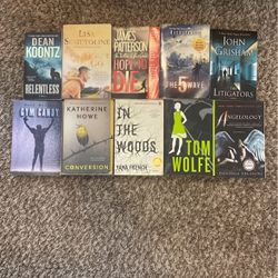 10 Books For Sale! for Sale in League City,  TX