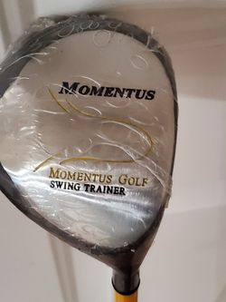 "New MOMENTUS GOLF SWING TRAINER DRIVER 36 OZS. RIGHT HAND TRAINING CLUB 42"" for Sale in Lynnwood,  WA"